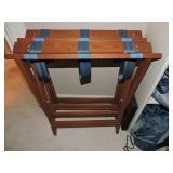 Pair of Wooden Luggage Racks