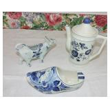 Vintage Handpainted Delftware Collection