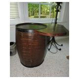 Vintage Barrel Table