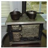 Novelty Dollhouse Custom Iron Stove
