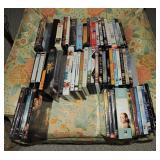 Collection of VCR Tapes and DVD