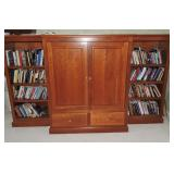 Contemporary Maple Entertainment Center