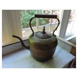 19th C. Copper Kettle