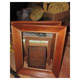 Collection of Assorted Vintage Wood Frames