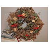 Dried Wreath Arrangement