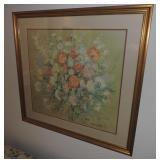 Kamil Kubik (1930 - 2011) Floral Print