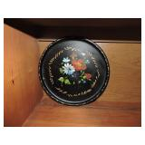 Vintage Nashco Hand Painted Toleware Tray
