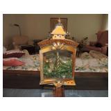 Vintage Bronzed Metal Lantern