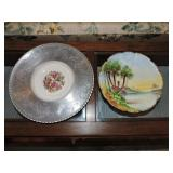 Pair of French Limoges Plates