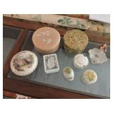 Collection of Assorted Dresser & Trinket Boxes