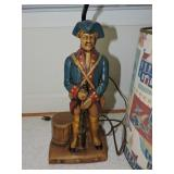 Vintage Ceramic Soldier