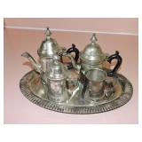 International Silver Co. Silver Plated Tea Set