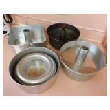 Assorted Baking Tin Ware