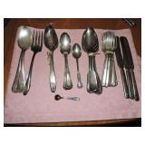Assorted Silver Plated Dinnerware