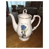 Vintage 1973 Holly Hobbie Porcelain Teapot