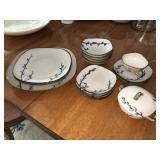 Vintage Hand Craft Craftsmen China Partial Tea Set