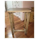Vintage Wood Side Table