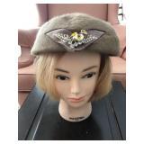 Vintage Merri Soie Merrimac Beret Hat