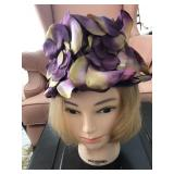 Vintage Ladies Mushroom Style Hat