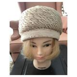 Vintage Ladies Cloche Hat