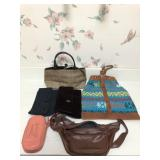 Collection of Assorted Hand Bags, Purses & Clutchs