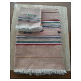 Collection of Matching Tablecloth/Napkins
