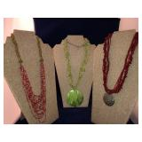 Collection of  Vintage Seed Bead Necklaces