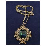 Vintage Victorian Style Pendant Necklace
