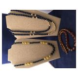 Vintage Collection of Silicone Beaded Necklaces