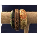 Collection of Vintage Bangle Bracelets