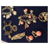 Vintage Collection of Charm Bracelets