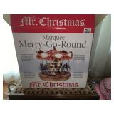 Mr. Christmas Marquee Merry-Go-Round