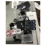 NEW HERO +3 GO PRO SET UP AND CORD AND SIM CARD