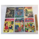 Lot of 6 Comic Books, Vintage