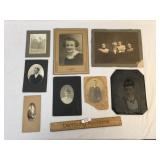 Lot of 8 Photos or Photographs, Antique