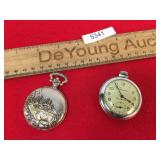 Lot of 2 Pocket Watches, Vintage