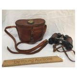 Binoculars, in Leather Case, Military Stereo 6x30,