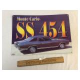 Monte Carlo SS 454 Metal Sign