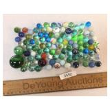 Lot of 100 Marbles, Vintage or Antique
