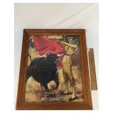 Print, Matador or Bull Fighter, Vintage