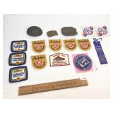Lot of 16 Items, Beer Advertising Fire Department
