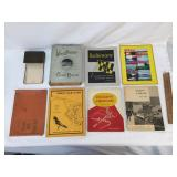 Lot of 8 Books or Booklets, Vintage