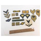 Lot of 20 US Military Patches