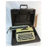 Typewriter, Smith Corona Galaxie Twelve, Vintage