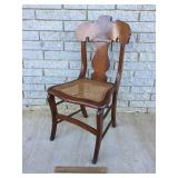 Cane Seat Chair, Antique