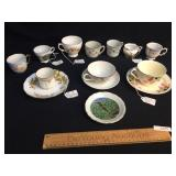 Lot of 14 Items, Tea Cups, China and More