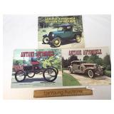 Lot of 3 Antique Automobile Publications, 1973 and