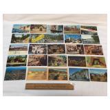 Lot of 50 Postcards, Vintage or Antique
