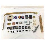 Lot of 40 US Military Items