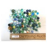 Lot of 100 Marbles, Vintage or Antique